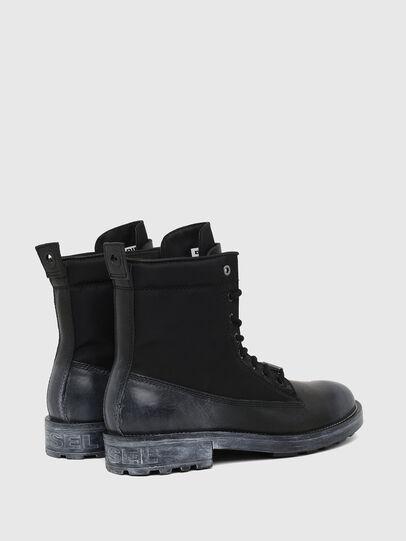 Diesel - D-THROUPER DBBZ, Black - Boots - Image 3