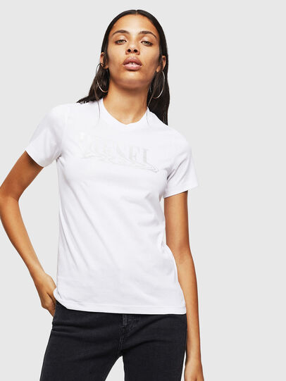 Diesel - T-SILY-WN, White - T-Shirts - Image 1