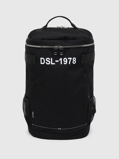 Diesel - PIEVE ZP, Black - Backpacks - Image 1