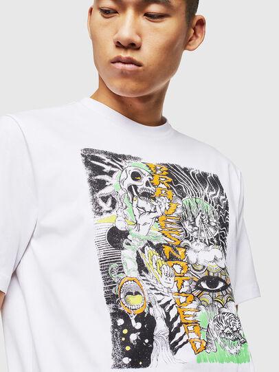 Diesel - T-JUST-J13, White - T-Shirts - Image 4