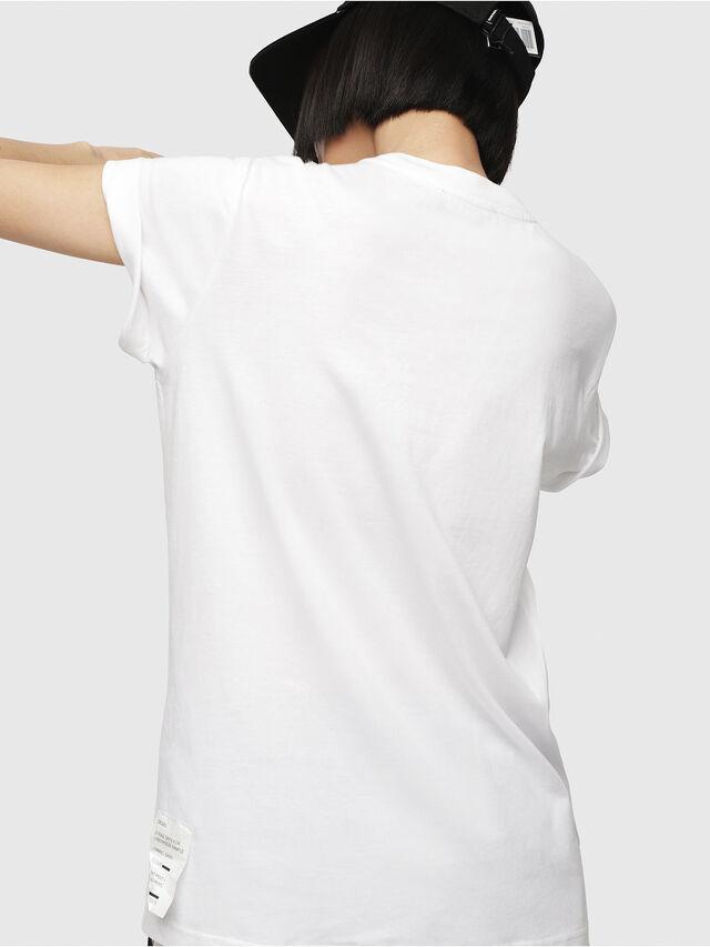 Diesel - T-DARIA-G, White - T-Shirts - Image 2