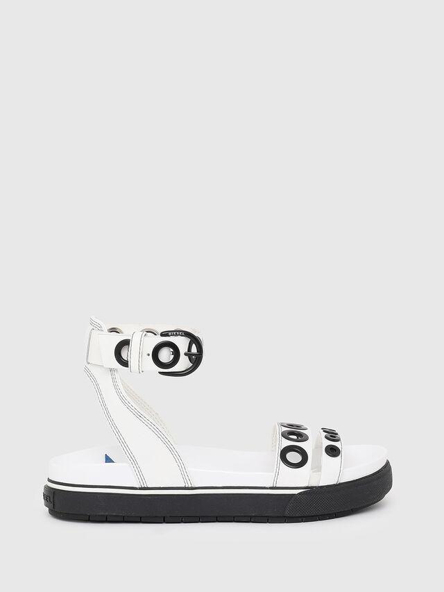 Diesel - SA-GRAND LCE, White/Black - Sandals - Image 1