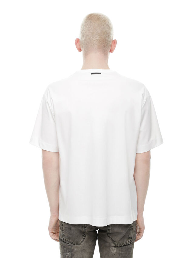 Diesel - TEORIAL-PEZZABOY2, White - T-Shirts - Image 2