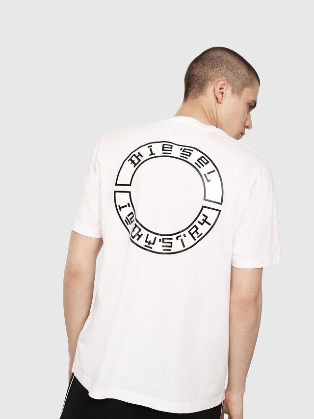 Diesel - T-JUST-Y13, White - T-Shirts - Image 2