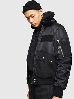 W-SLOTKIN-A, Black - Winter Jackets
