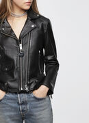L-LYF, Black Leather - Leather jackets