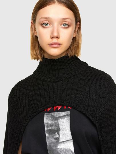 Diesel - M-BENAZIR, Black - Knitwear - Image 3