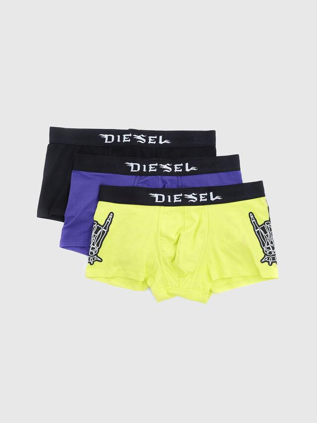 Diesel - UMBX-DAMIENTHREEPACK, Black/Yellow - Trunks - Image 1