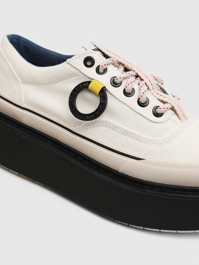 Diesel - H-SCIROCCO LOW, White/Pink - Sneakers - Image 4