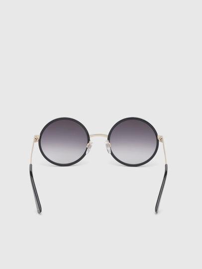 Diesel - DL0276, Black/Gold - Sunglasses - Image 4