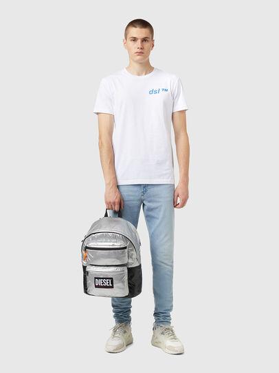 Diesel - RODYO PAT, Silver - Backpacks - Image 6