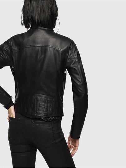 Diesel - L-SUZ,  - Leather jackets - Image 2