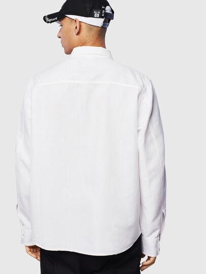 Diesel - D-FLOX, White - Denim Shirts - Image 2