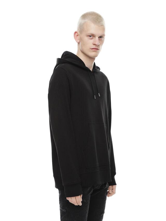 Diesel - SNEILBOOD-PATCHWORK, Black - Sweaters - Image 3