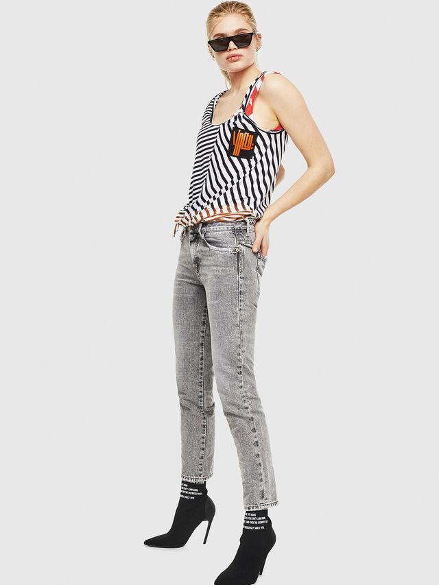 Diesel - D-Rifty 8880X, Light Grey - Jeans - Image 4