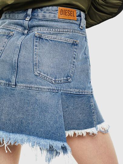 Diesel - DE-BRYX, Light Blue - Skirts - Image 5