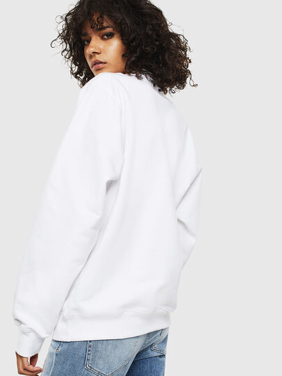 Diesel - F-ANG-S1, White - Sweaters - Image 2