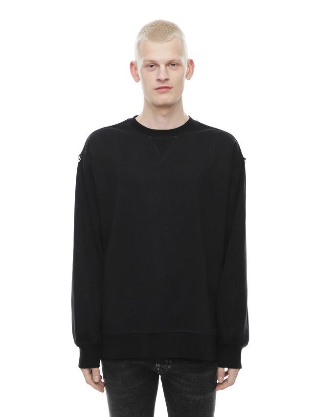 Diesel - FOBOH, Black - Sweaters - Image 1