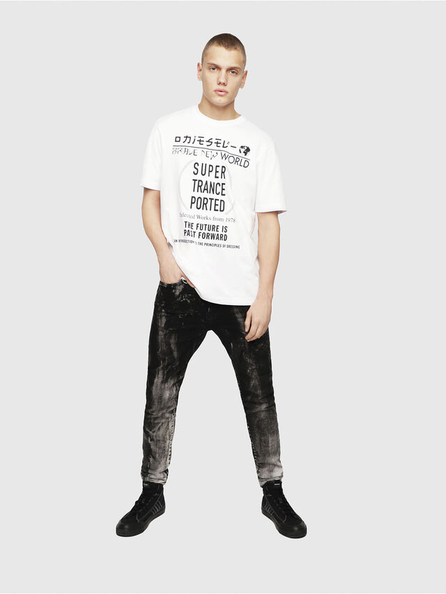 Diesel - T-JUST-YL, White - T-Shirts - Image 4