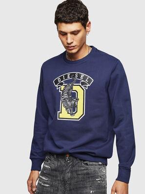 S-GIR-B1, Blue - Sweaters