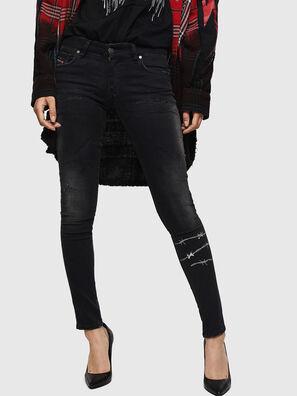 Slandy Low 069GH, Black/Dark grey - Jeans