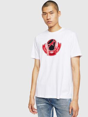 T-JUST-B1, White - T-Shirts