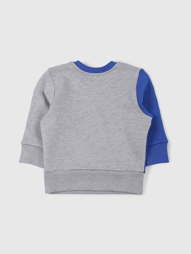 Diesel - SVETTEB, Grey/Blue - Sweaters - Image 2