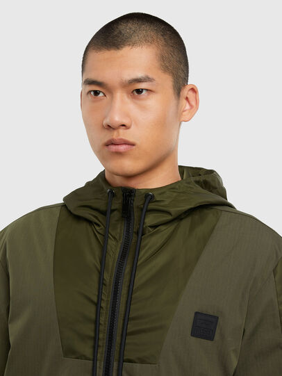 Diesel - J-CARSON-KA, Military Green - Jackets - Image 3