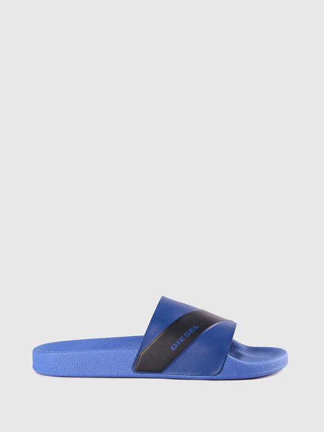 Diesel - SA-MARAL, Blue - Slippers - Image 1