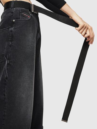 Diesel - D-Luite 083AK, Black/Dark grey - Jeans - Image 4