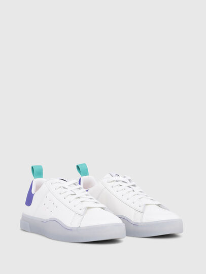Diesel - S-CLEVER LOW W, Bright White - Sneakers - Image 2