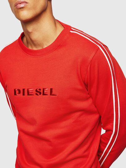 Diesel - UMLT-WILLY, Red - Sweaters - Image 4