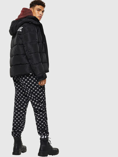 Diesel - W-SMITH-YA-WH, Black - Winter Jackets - Image 5