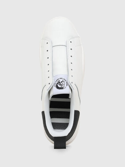 Diesel - S-CLEVER SO, White/Black - Sneakers - Image 6