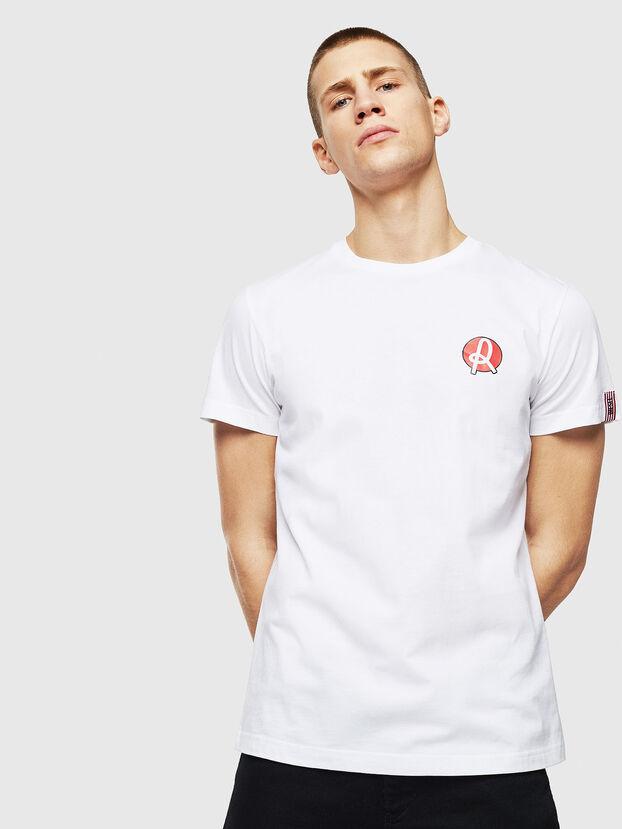 LR-T-DIEGO-VIC, White - T-Shirts