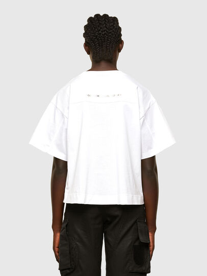 Diesel - T-BOWLESS, White - T-Shirts - Image 2