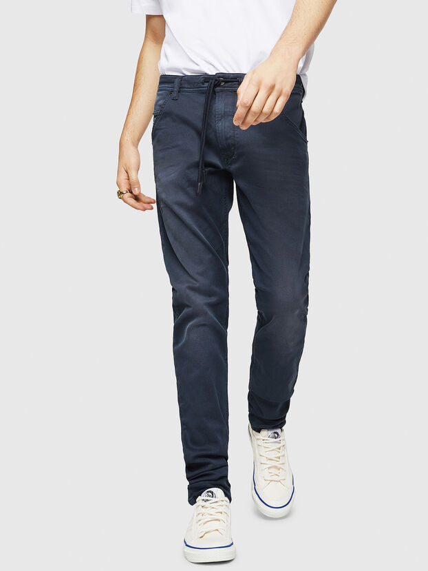 Krooley Long JoggJeans 0670M, Dark Blue - Jeans