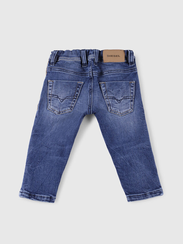 Diesel - KROOLEY-JOGGJEANS-B-N, Blue Jeans - Jeans - Image 2