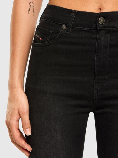Diesel - D-Roisin High 069MZ, Black/Dark grey - Jeans - Image 3