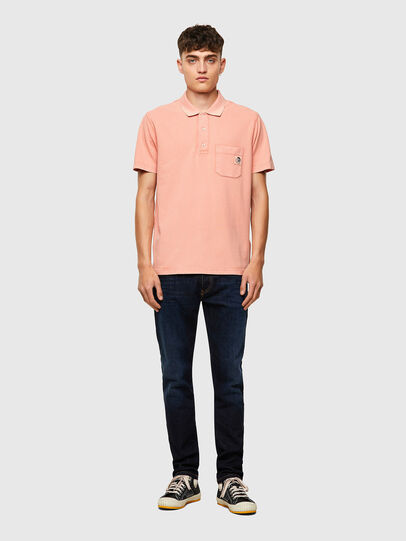 Diesel - T-POLO-WORKY-B1, Face Powder - Polos - Image 4