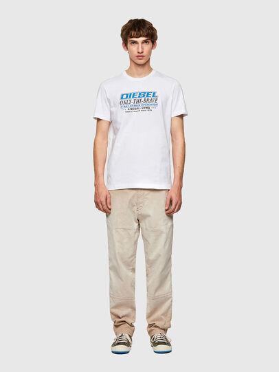Diesel - T-DIEGOS-K20, White - T-Shirts - Image 4