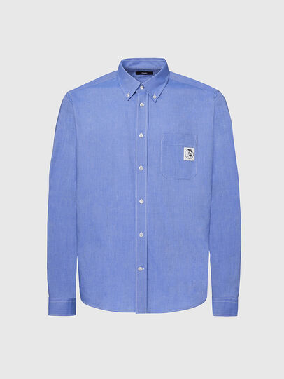 Diesel - S-JAMES, Light Blue - Shirts - Image 1