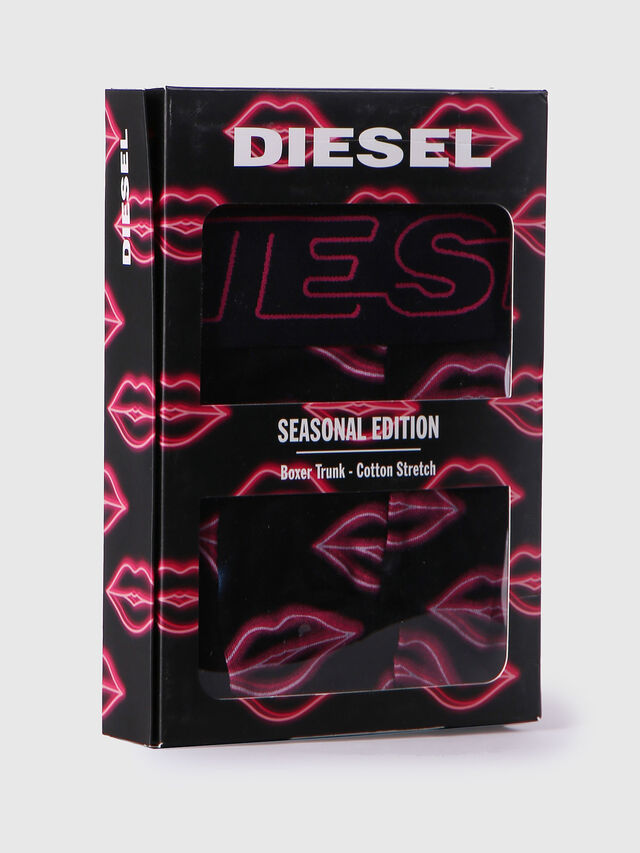 Diesel UMBX-DAMIEN, Black/Pink - Trunks - Image 4