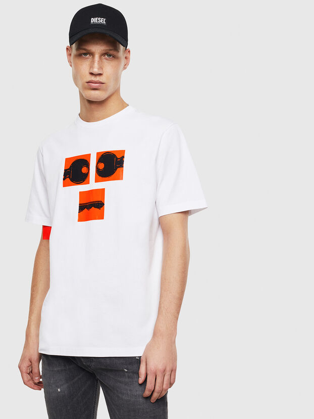 T-JUST-T23, White - T-Shirts