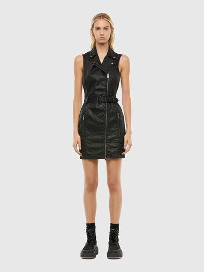 Diesel - D-ACICO JOGGJEANS, Black - Dresses - Image 1