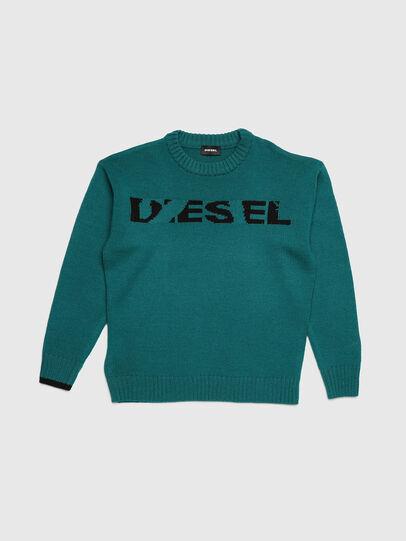 Diesel - KLOGOX, Green - Knitwear - Image 1