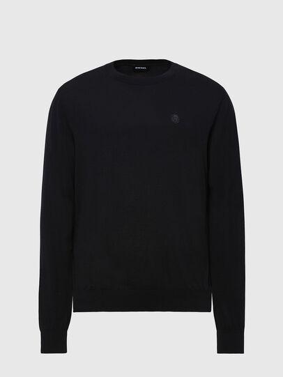 Diesel - K-CROFT, Black - Knitwear - Image 1