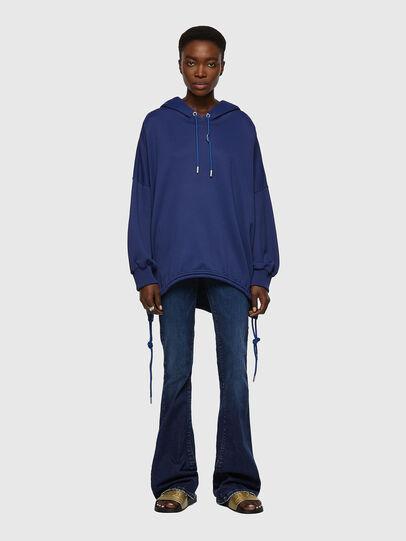 Diesel - F-JUSTINA, Dark Blue - Sweaters - Image 4
