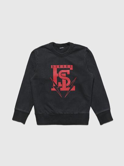 Diesel - SBAYB5, Black - Sweaters - Image 1