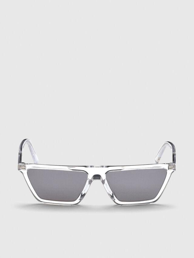 Diesel - DL0304, White - Sunglasses - Image 1